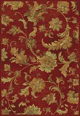 KAS Versailles  8553 Red Aegean Scroll