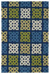 Kaleen Home and Porch Blue 2032-17