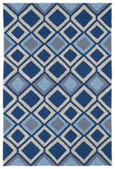 Kaleen Home and Porch Blue 2033-17
