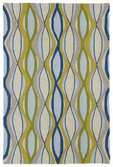 Kaleen Home and Porch Blue 2034-17
