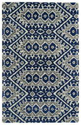 Kaleen Global Inspirations Blue Glb01-17