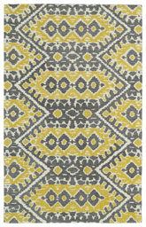 Kaleen Global Inspirations Yellow Glb01-28