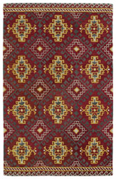 Kaleen Global Inspirations Red Glb07-25