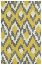 Kaleen Global Inspirations Yellow Glb10-28