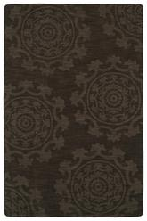 Kaleen Imprints Classic Chocolate  Ipc01-40