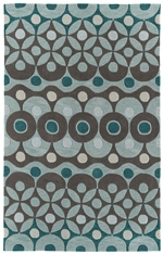 Kaleen Rachael Ray Soho Collection SOH0791 Teal