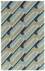 Kaleen Rachael Ray Soho Collection SOH0891 Teal