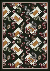 Milliken Theme Rugs 2 4 Of A Kind Field 7005