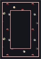 Milliken Theme Rugs 2 Billiards Border 7002