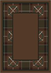 Milliken Theme Rugs 2 Country Club Border 07000 Spirit