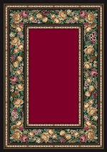 Milliken Innovations English Floral 08000 Ruby