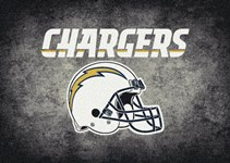 Milliken NFL Team Distressed San Diego Chargers 4079 Distressed
