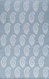 Momeni Lace Embroided Soft Blue LAC-1