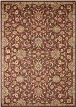 Nourison Kathy Ireland Ancient Times BAB05 Brown