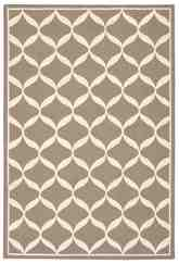 Nourison Decor DER06 Taupe White