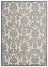Nourison Graphic Illusions GIL03 Ivory and Light Blue