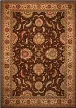 Nourison Living Treasures LI04 Brown