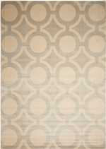 Nourison Luminance LUM01 Cream Grey