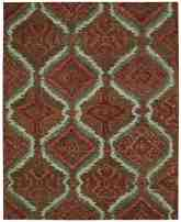 Nourison Tahoe Modern MTA06 Brown Red