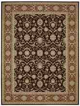 Nourison Persian Crown PC001 Dark Brown
