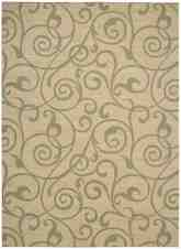 Nourison Riviera RI03 Light Gold