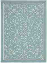 Nourison Home and Garden RS019 Light Blue
