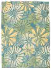 Nourison Home and Garden RS022 Blue