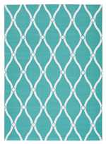 Nourison Home and Garden RS089 Aqua