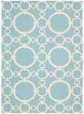 Nourison Waverly Sun and Shade SND02 Aquamarine