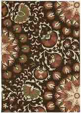 Nourison Suzani SUZ02 Brown