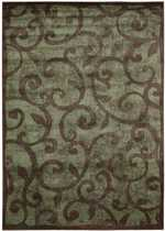 Nourison Expressions Xp02 Brown Area Rug Free Shipping