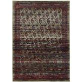 Oriental Weavers Andorra 7122D Multi and Red
