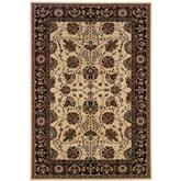 Oriental Weavers Ariana 431I8 Ivory and Black