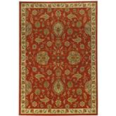 Oriental Weavers Casablanca 5317D Red and Beige