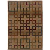 Oriental Weavers Genesis 096J1 Beige and Brown