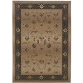 Oriental Weavers Genesis 112M1 Beige and Brown