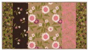 Oriental Weavers Serendipity 19219 Brown and Pink