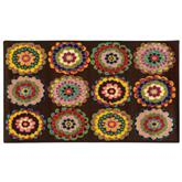 Oriental Weavers Serendipity 25524 Brown and Pink