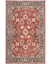 Oriental Weavers Alfresco 28404 Red and Blue