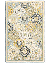 Oriental Weavers Alfresco 28406 Blue and Gold
