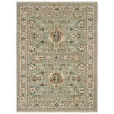 Oriental Weavers Anatolia 1331A Blue and Brown