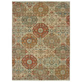 Oriental Weavers Anatolia 090E3 Sand and Rust