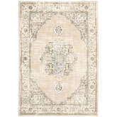Oriental Weavers Andorra 303D0 Beige and Ivory