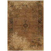 Oriental Weavers Andorra 6845D Gold and Brown