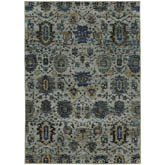 Oriental Weavers Andorra 7120A Blue and Navy