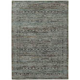 Oriental Weavers Andorra 7127A Blue and Purple