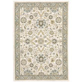Oriental Weavers Andorra 8918I Stone and Ivory