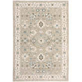 Oriental Weavers Andorra 8930L Beige and Ivory