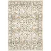 Oriental Weavers Andorra 9818G Beige and Ivory