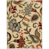 Oriental Weavers Arabella 15927 Ivory and Multi